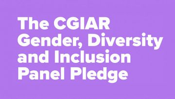 GENDER, DIVERSITY AND INCLUSION IN CGIAR'S WORKPLACES